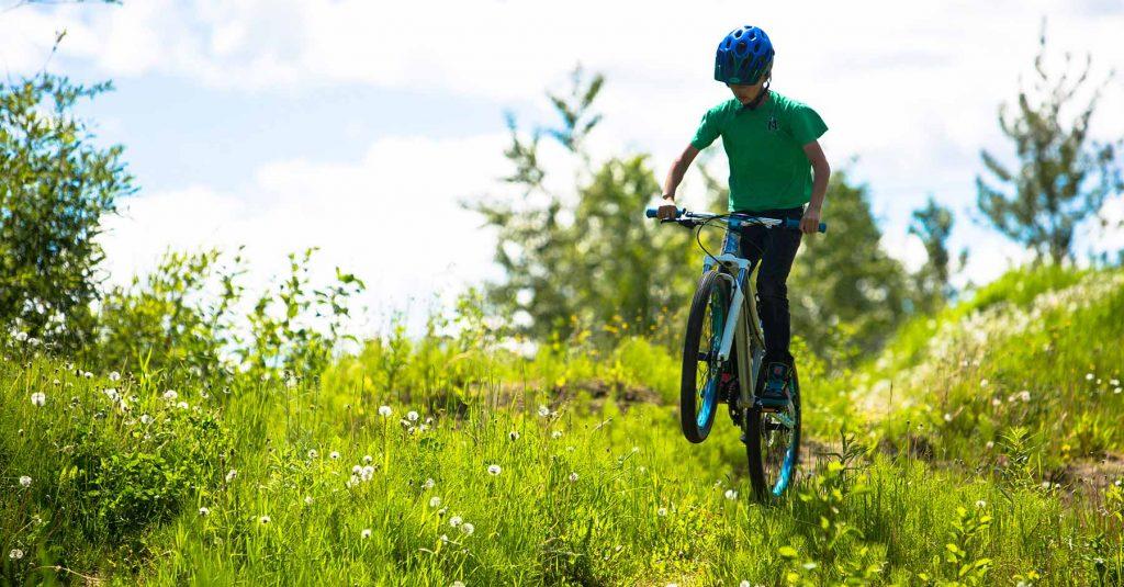 kid bike jump