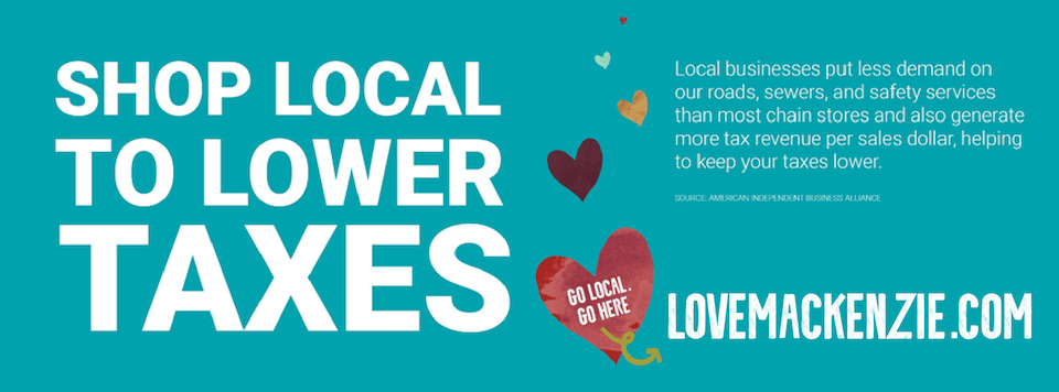shop local to lower taxes