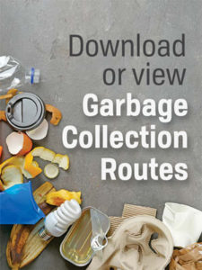 Garbage routes