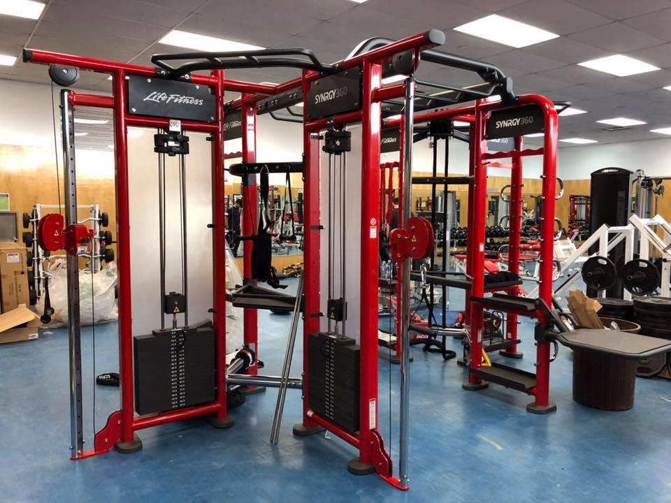 new weight room equipment