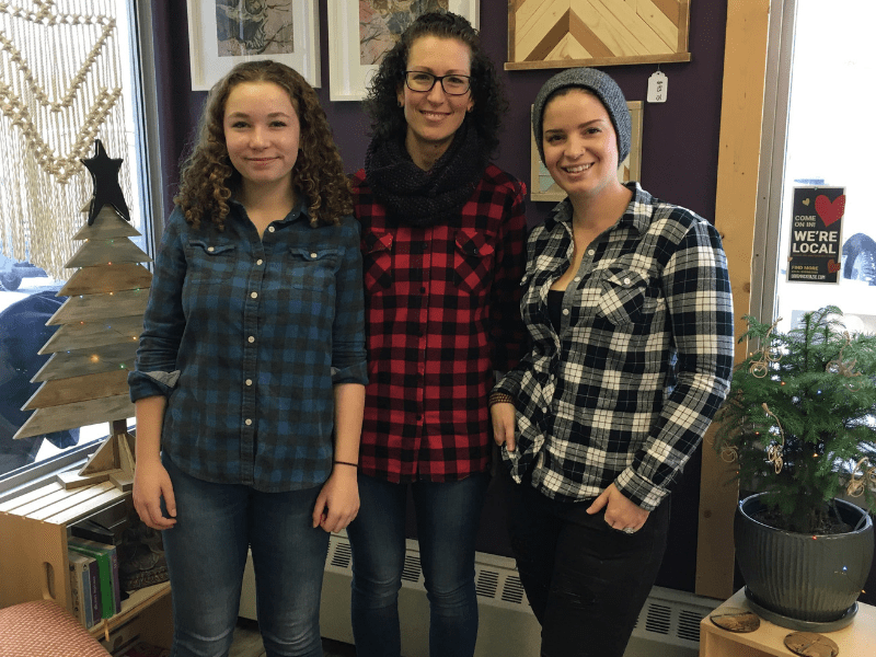 Cara & Team - Plaid Friday