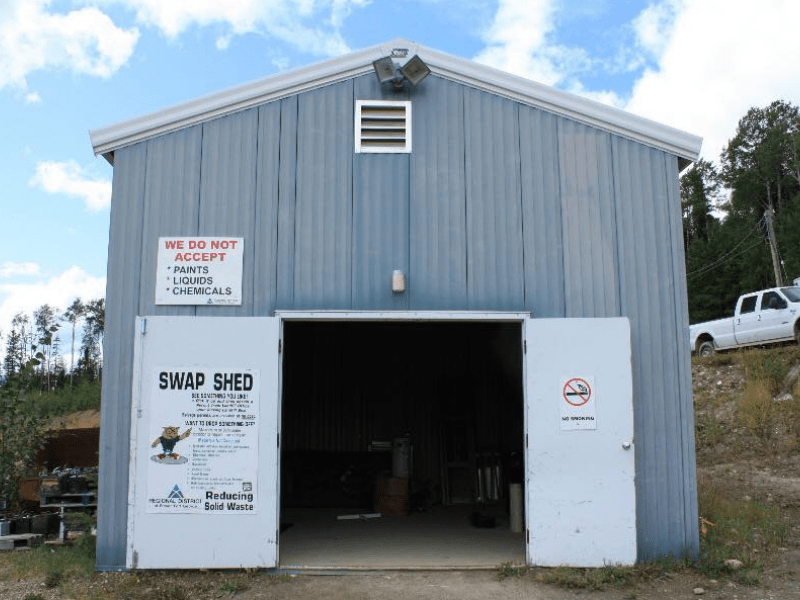 swap shed