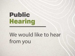 Public Hearing - Land Use Updates @ Council Chambers