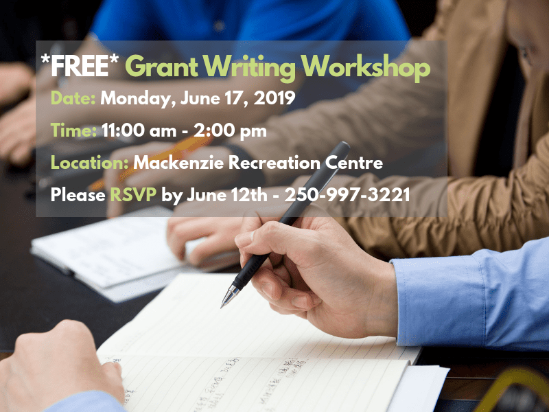 grant writing workshop poster