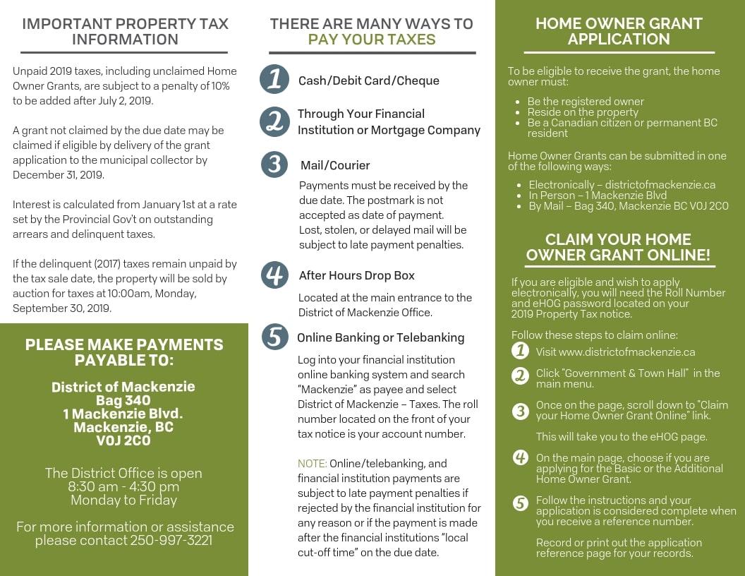 Tax Insert