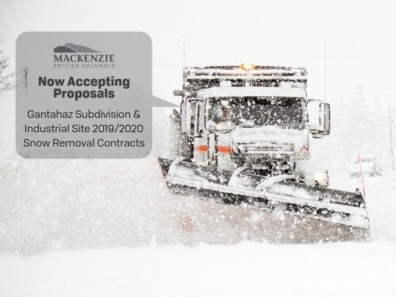 Snow Removal Contract RFP