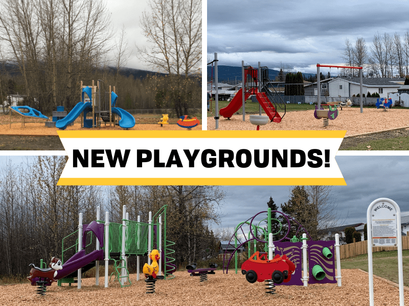 New Playgrounds