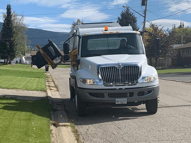 New Garbage Truck