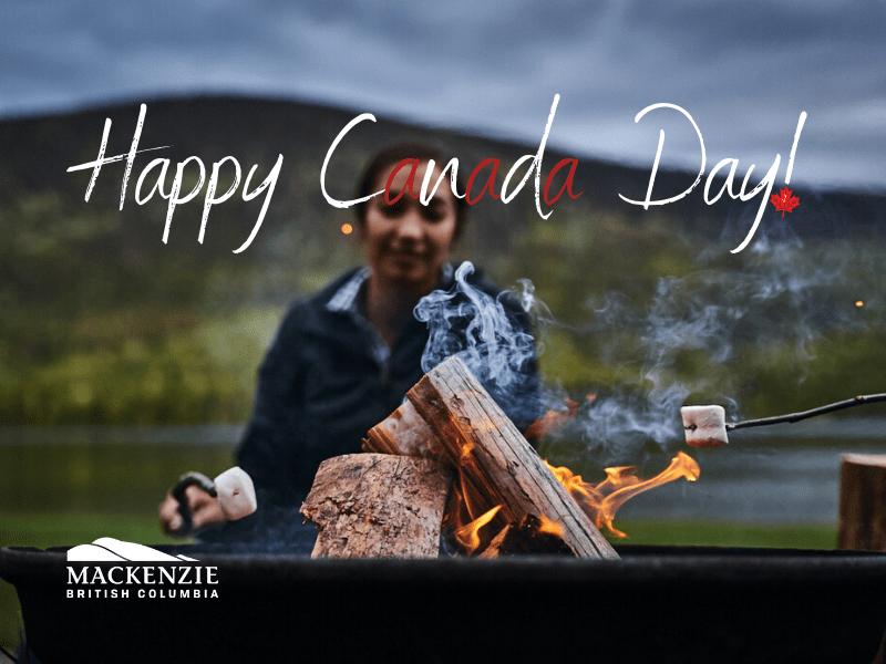 Happy Canada Day Mackenzie BC