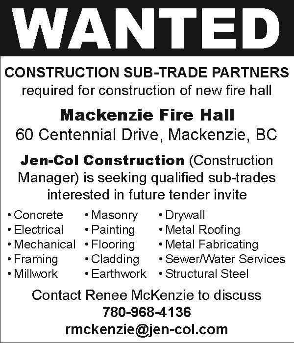 Sub-Trades Wanted