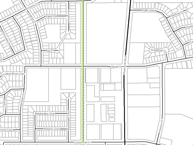 map of fraser boulevard