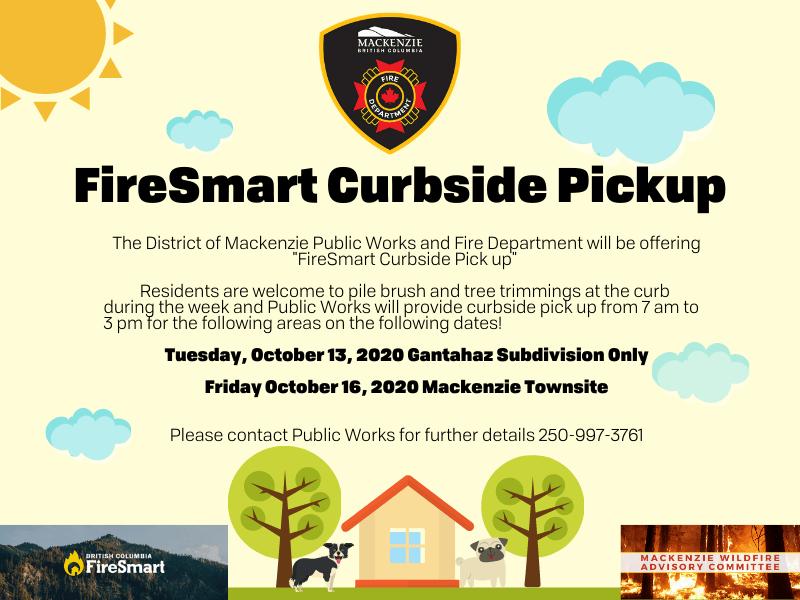 FireSmart Curbside Pickup
