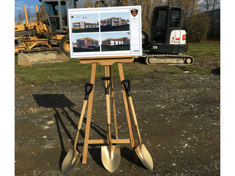 Breaking Ground on the New Fire Hall Project!