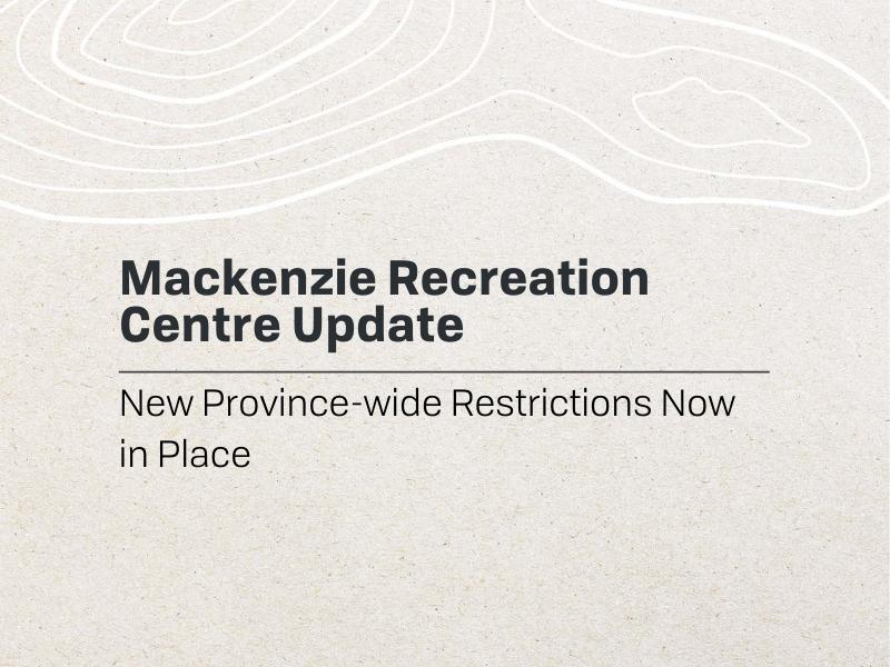 Rec Centre Update