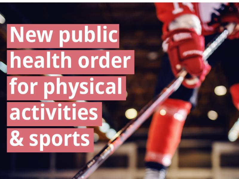 New Public Health Order