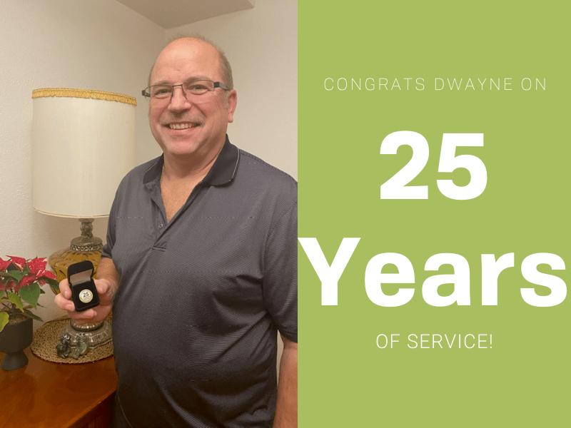 25 Year Service