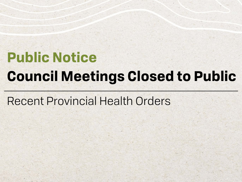 Council Meetings Closed (7)