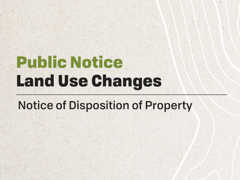 Disposition of Property
