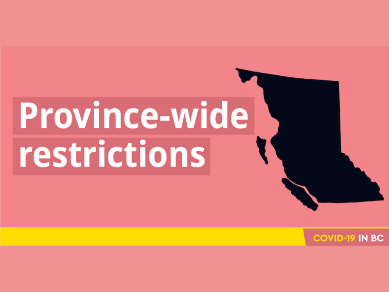 Province-wide restrictions
