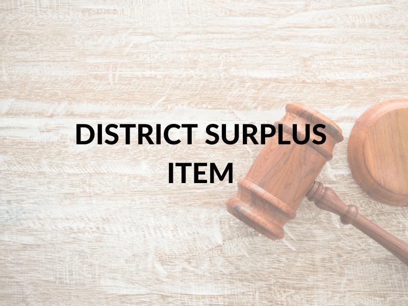 Surplus Item