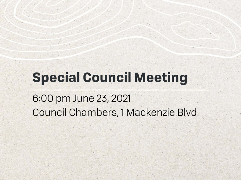Special Meeting